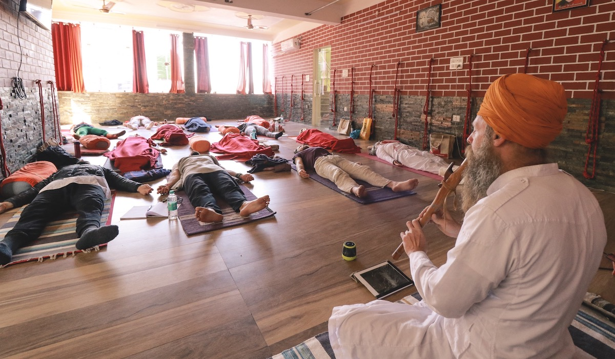naad yoga and sound healing